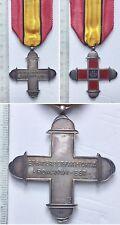42) Croce II Armata Ia Guerra Mondiale modello in argento