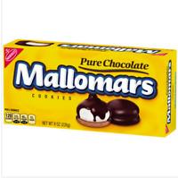 (1)-  Box of Nabisco Mallomars Pure Chocolate Cookies 8 OZ Each