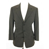 Banana Republic Mens 38R Blazer Suit Medium Jacket Brown Gray 3 Button