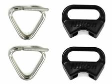 Nikon Genuine Triangle Rings Camera Strap Lugs & Protector for SLR Lot of 4 2x2