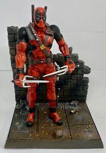 Diamond Select Marvel Select Deadpool Action Figure Used