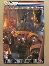 GI Joe vs The Transformers The Art of War #1B Devil's Due Series 2006 - 9.4 NM