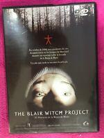 THE BLAIR WITCH PROJECT DVD EL PROYECTO DE LA BRUJA DE BLAIR ESPAÑOL INGLES