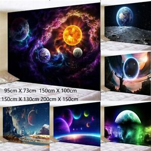 Psychedelic Outer Space Art Tapestry Wall Hanging Galaxy Tapestry Home Decor