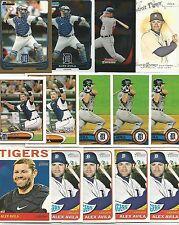 Alex Avila (103) Card Lot 24 Different w/ Inserts Premiums Tigers