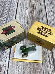 John Deere 1995 ERTL 50th Anniversary Model A Tractor 1/64 Die Cast