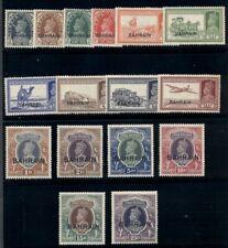 BAHRAIN #20-37, Complete set, og, XLH, VF, Scott $703.75