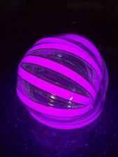 """electroluminescent PURPLE el tape 1/2""""x 24"""" with 12 volt inverter MFG IN USA!!"""