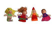 Princess Mermaid finger puppets, Story telling Nursery Rhymes Fairy tales