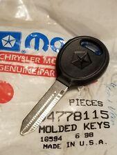 Key Blank 04778115 New 96-00 Chrysler Town&Country Dodge Caravan Mopar Factory