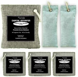 Bamboo charcoal air purifying bag ( 6 pack ) Florida home comfort