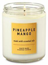 Bath & Body Works Pineapple Mango 1 Wick Scented Jar Candle 7 oz