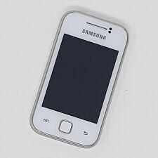 "Samsung Galaxy Y 3G 3"" - S5360 - White - Working Condition - Unlocked - Fast P&P"