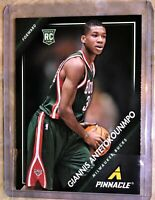 Giannis Antetokounmpo 2013-14 Pinnacle ROOKIE RC Card #5 MILWAUKEE BUCKS GREEK