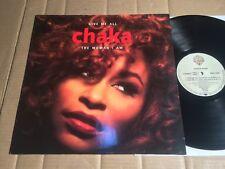 """CHAKA KHAN - GIVE ME ALL / THE WOMAN I AM - 4-TRACK-12""""-MAXI SINGLE - DE 1992"""