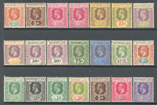 Seychelles 1917-1932 King George V Better Selection Mint £217.65/$280