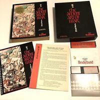 "The Ancient Art of War 1985 Vintage 5.25"" Floppy IBM PC Game Broderbund Tested"
