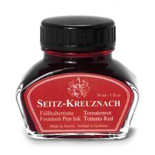 Seitz-Kreuznach Tomato Red, Encre de stylo-plume 30ml Colors of Nature