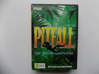 Pitfall The Mayan Adventure Sega Genesis Mega Drive.+