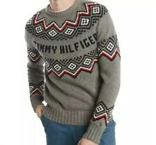 Tommy Hilfiger Men's Hudson Sz XL Sweater Nordic Wool Gray New $129
