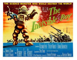 the invisible boy 1957 sci-fi richard eyer dvd