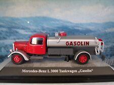 1:43 PREMIUM CLASSIXXs (Germany) MERCEDES L3000, Gasolin, tank truck