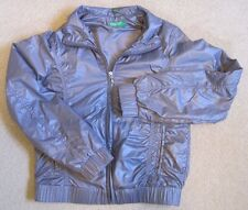 UNITED COLORS OF BENETTON-Girl's Jacket/Coat-Purple-Lightweight-Ages 10/11-XL