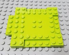 LEGO New Lime Green 8 x 8 with 1x4 Indentations and 1x4 Plate Piece
