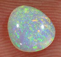 AUSTRALIAN OPAL L/Ridge Solid Crystal N8 Nice Bright fires 0.5cts #BT2690 VIDEO
