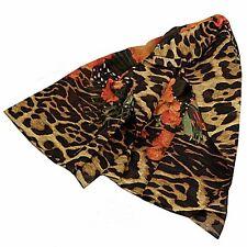 Givenchy foulard animaler fleurs