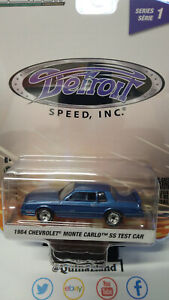 Greenlight Detroit 1984 Chevrolet Monte Carlo SS Test Car  serie 1   (NG55)