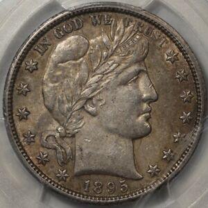1895-O Barber Half Dollar PCGS & CAC AU-58! Pop 6 in 58/CAC