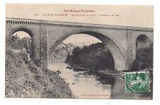 oloron-ste-marie  le gave et le pont du chemin de fer