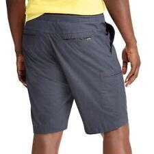 6a882d8a08 Mens Chaps Stretch Cargo Ripstop Shorts Size 52 Khaki Comfort Drawstring X10