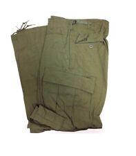 Vietnam Era Xl-Regular Ripstop 3rd pattern Jungle Trousers Zipper Fly Mint