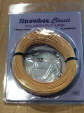 Snowbee Classic Salmon Fly Line, Floating, # 8/9, Weight Forward Profile, New.