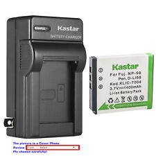 Kastar Battery AC Wall Charger for Fujifilm NP-50 BC-50 Fuji FinePix XF1 Camera