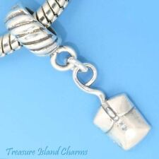 COMPUTER PC MOUSE 3D .925 Solid Sterling Silver EUROPEAN EURO Bead Charm