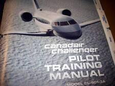Canadair Challenger CL-601-3A Pilot Training Manual