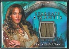 Stargate Atlantis Season 1 Costume Card Teyla Emmagan