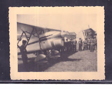 Fotografia Foto Aereo Fiat C.R. 32 Biplano da Caccia Anni 30 KK1865