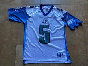 Donovan McNabb Philadelphia Eagles 2005 Super Bowl  XXXIX NFL Jersey Mens L