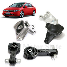 2006 - 2010 Honda Civic 1.8L AT Engine Motor. Trans Mounts Kit 4PCS With Support