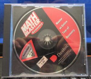 "Math Blaster ""GEOMETRY, Master an Entire Year"" - Windows or Mac Systems"