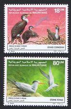 Birds Mauritanian Stamps