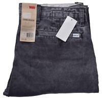Levis Men's Chino Jogger Black Pants Size 34 x 30