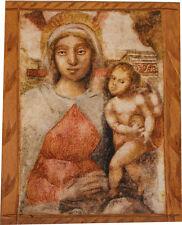 ICONA MADONNA DELL'ARCO Altezza cm. 60 x 70