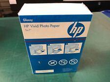"HP Photo Paper 5"" x 7"" Glossy"
