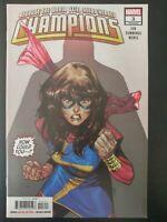 ⭐️ CHAMPIONS #3a (lgy 30) (2019 Marvel Comics) ~ VF/NM Comic Book
