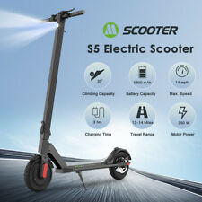 FOLDING ELECTRIC SCOOTER 5.8AH LG BATT ADULT KICK E-SCOOTER SAFE URBAN COMMUTER